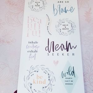 The Happy Planner Other - Dream Seeker Stickers The Happy Planner New